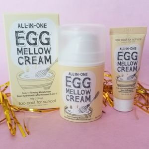 NIB! Too Cool for School EGG Mellow Cream! 5-in-1!